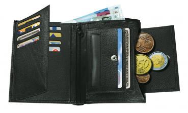 Echtleder Geldbörse TRAPANI