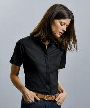 Ultimate Stretch Bluse kurzarm